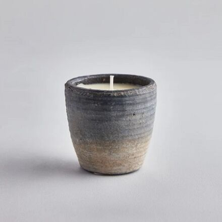 St Eval Coastal Small Pot Candle Sea Salt