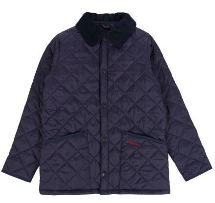 Barbour Boys Liddesdale Quilt Jacket Navy