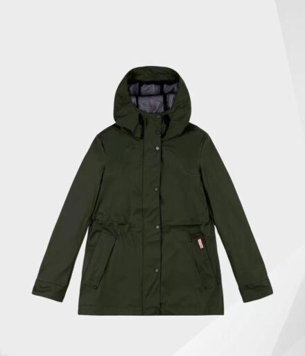 Hunter Women's Lightweight Rubberised Jacket Dark Olive