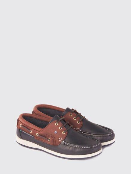 Dubarry Commodore XLT Deck Shoe Navy/Brown