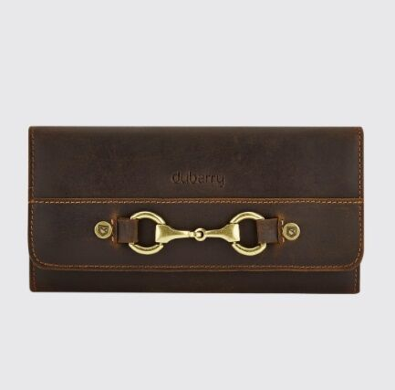 Dubarry Cong Leather Wallet Mahogany