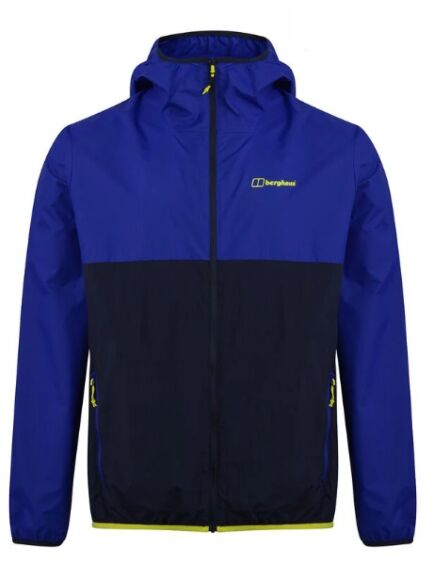 Berghaus Men's Corbeck Wind Jacket Spectrum Blue/Night Sky
