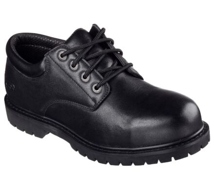 Skechers Work Relaxed Fit: Cottonwood - Elk Black