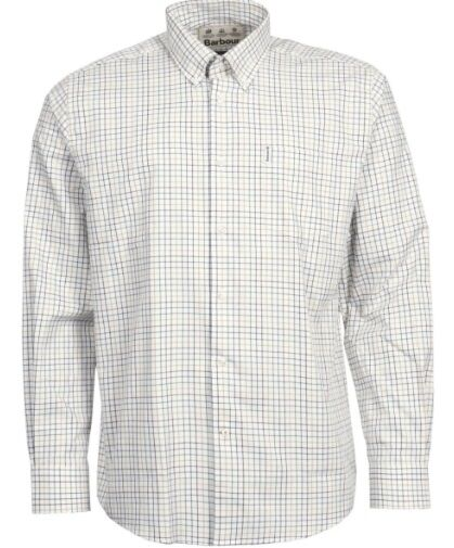 Barbour Tattersall 9 Tailored Fit Shirt Ginger