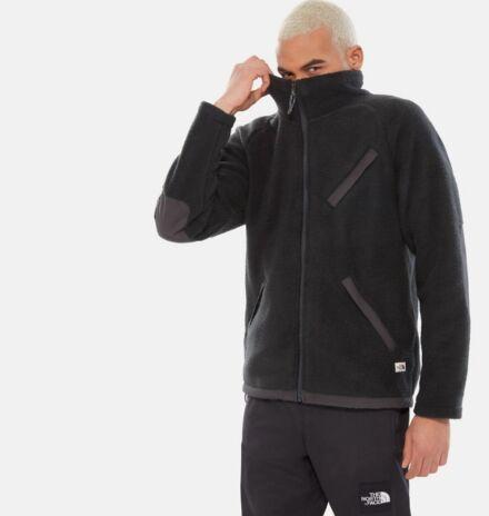 The North Face Men's Cragmont Fleece Full Zip Jacket Black