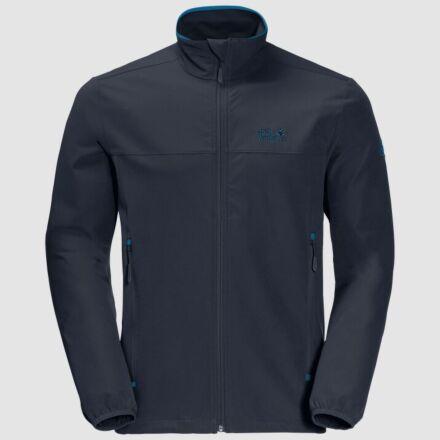 Jack Wolfskin Men's Crestview Softshell Jacket Night Blue