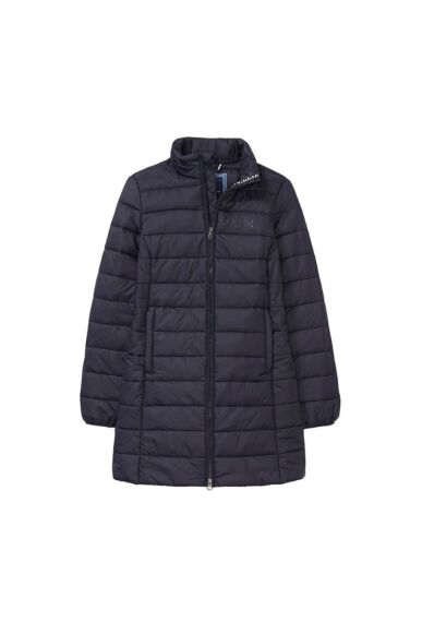 Crew Clothing Long Quilted Jacket Navy Clearance - 8