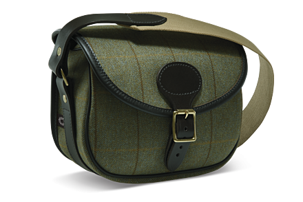 Croots Helmsley Tweed Cartridge Bag Green
