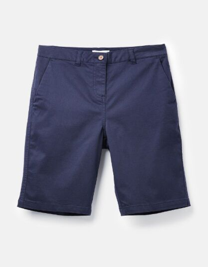 Joules Cruise Longer Length Chino Shorts French Navy