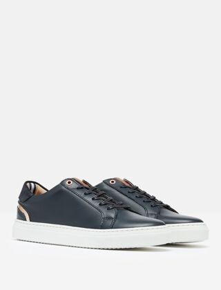 Joules Classic Cupsole Trainer Navy