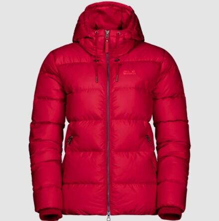 Jack Wolfskin Women's Crystal Palace Jacket Ruby Red