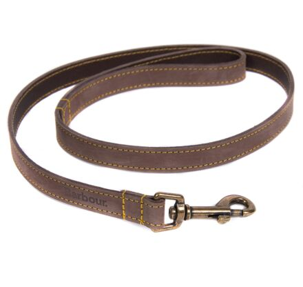 Barbour Leather Dog Lead Brown