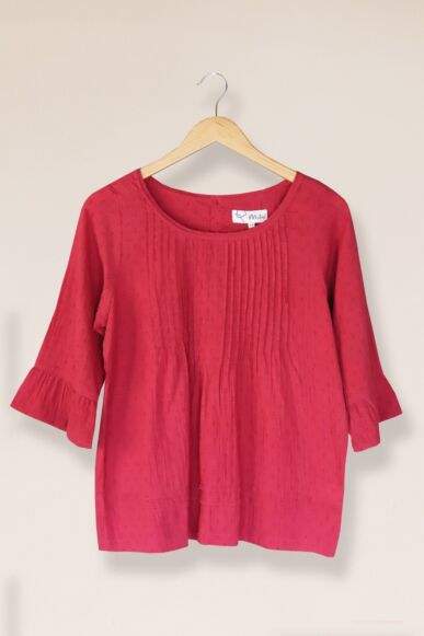 Mistral Dandy Dobby Top Red
