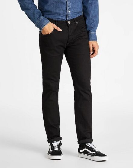 Lee Daren Button Fly Jeans Clean Black