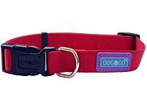 Hemmo & Co Adjustable Collar Red