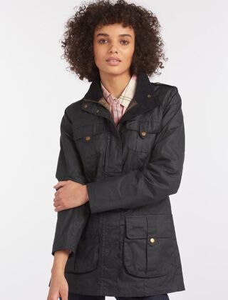 Barbour Defence Lightweight Wax Jacket Royal Navy