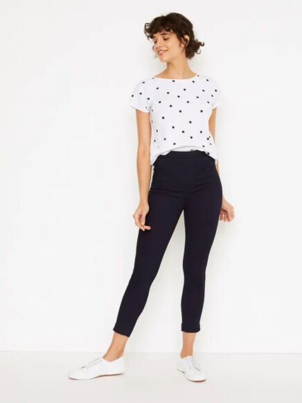White Stuff Jade Jegging Crop Dark Denim