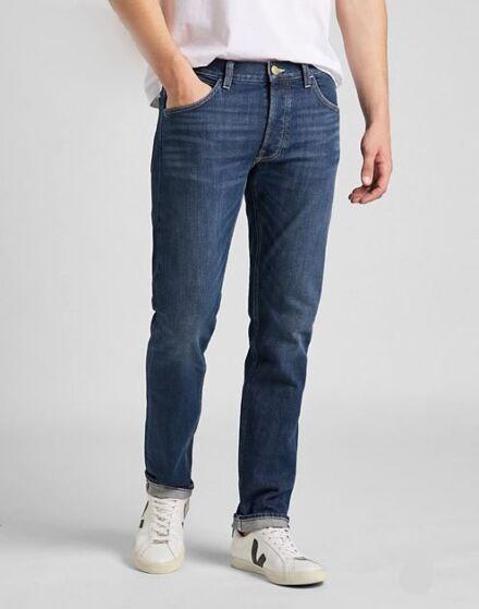 Lee Luke Low Stretch Jeans Dark Worn Kansas