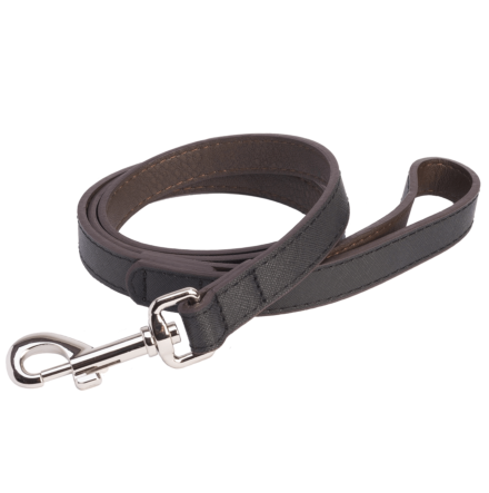 DO&G Leather Lead Black
