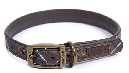 Barbour Tartan Dog Collar Classic Tartan
