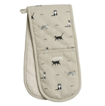 Sophie Allport Purrfect Double Oven Gloves