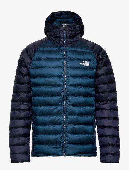 The North Face Trevail Hooded Down Jacket Montorey Blue/Navy