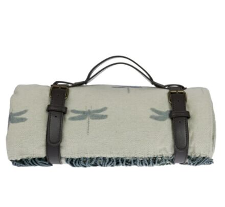 Sophie Allport Dragonfly Knitted Picnic Blanket