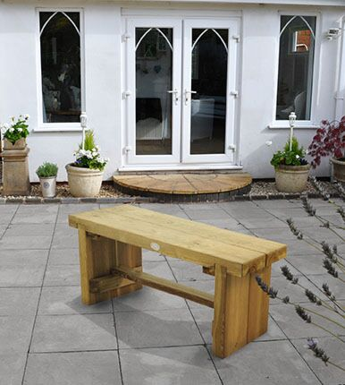 Forest Gardens Double Sleeper Bench 1.2m