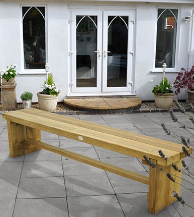 Forest Gardens Double Sleeper Bench 1.8m
