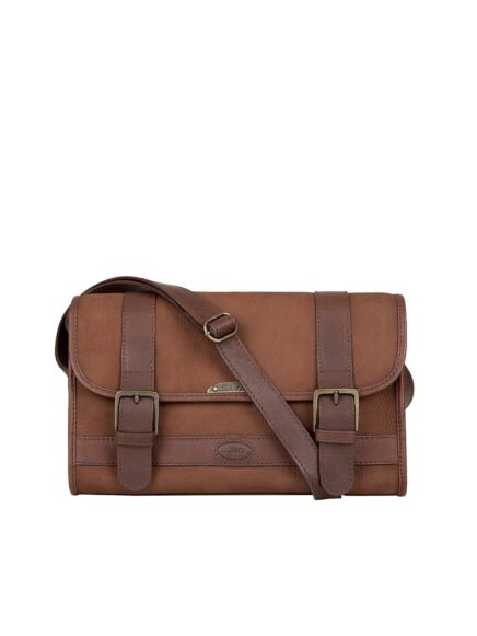 Dubarry Clones Cross Body Bag Walnut