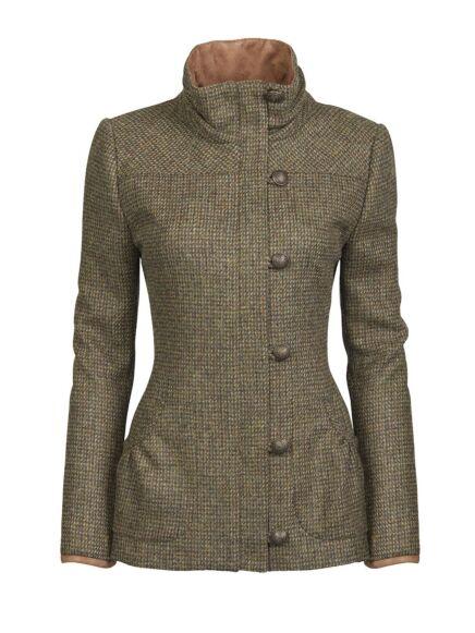 Dubarry Women's Bracken Tweed Sports Jacket Heath