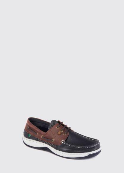 Dubarry Regatta Boat Shoes Navy/Brown