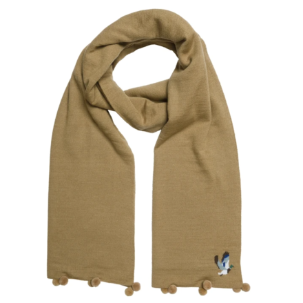 Sophie Allport Ducks Knitted Scarf