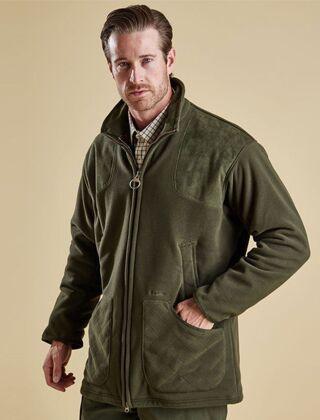 Barbour Dunmoor Fleece Jacket Olive