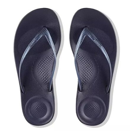 Fitflops Iqushion Ergonomic Flip Flops Midnight Navy