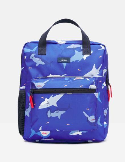 Joules Easton Printed Backpack Sharks