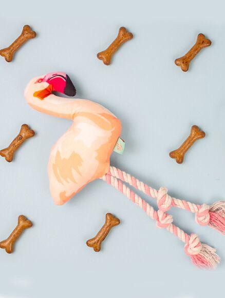 Emily Brooks Flamingo Pet Toy
