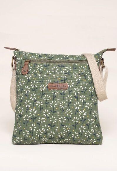 Brakeburn Eden Cross Body Bag Green