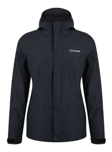 Berghaus Women's Elara 3in1 Waterproof Jacket Black/Grey