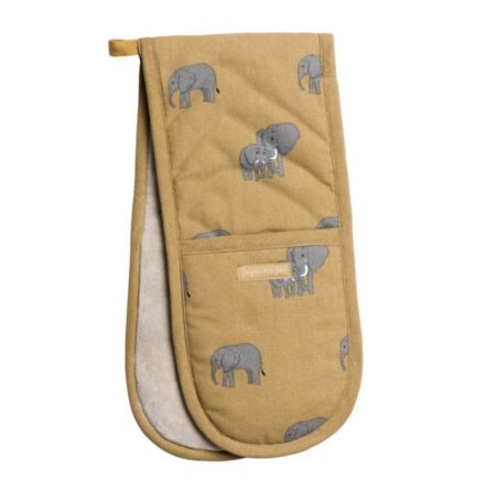 Sophie Allport Elephant Double Oven Gloves
