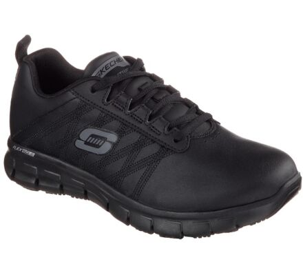 Skechers Work Relaxed Fit: Sure Track - Erath Black