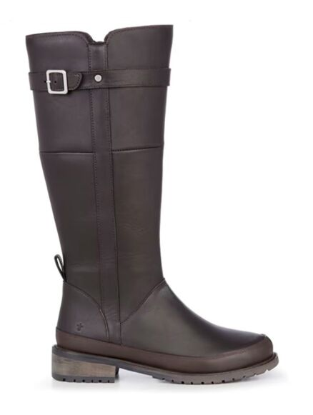 Emu Natasha Leather Boots Espresso