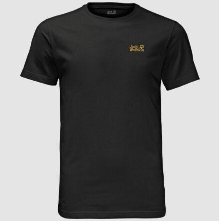 Jack Wolfskin Men's Essential T-Shirt Black