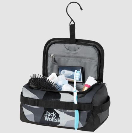 Jack Wolfskin Expedition Wash Bag Black
