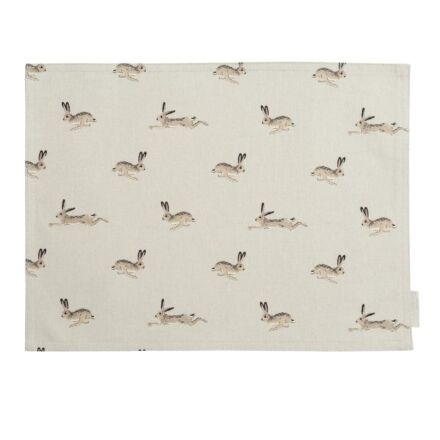 Sophie Allport Hare Fabric Placemat