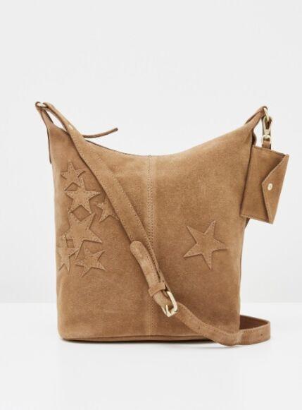 *AW20 - all info* White Stuff Fern Leather Mix Crossbody Bag