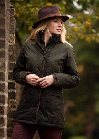 Alan Paine Fernley Ladies Weekend Coat Woodland