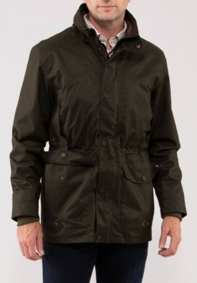 Alan Paine Fernley Mens Field Coat Woodland