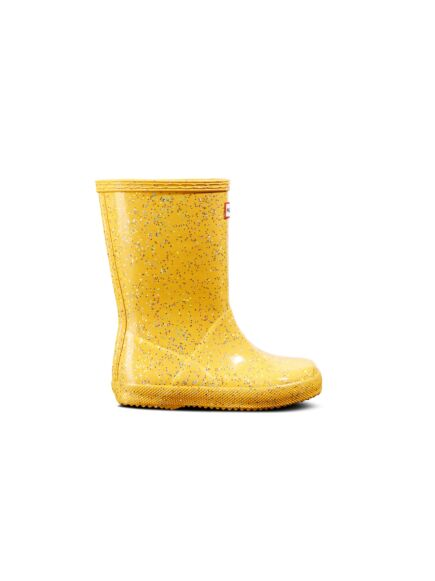 Hunter Kids First Classic Giant Glitter Wellies Helios