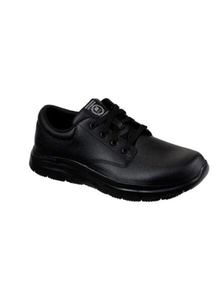 Skechers Men's Work Relaxed Fit: Flex Advantage -Fourche SR Black